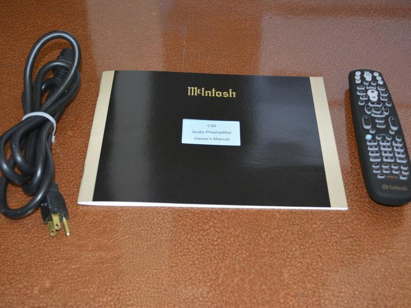 McIntosh C50 Preamplier - Excellent condition - (see pics)!