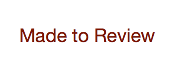 image of the Made to Review logo - linking to a review of the Robert Owen Oxford undershirt