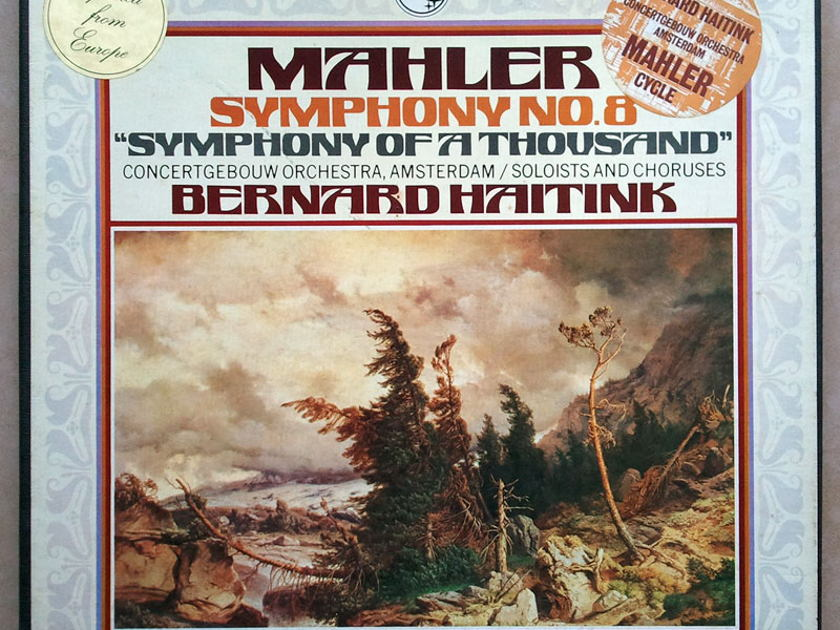 Philips/Haitink/Mahler - Symphony No.8 / 2-LP box set /  NM