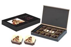 Return Gifts for Marriage - 12 Chocolate Box - Middle Printed (10 Boxes)