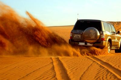 Сафари по песчаным дюнам: Ну кто не любит экстрим?!