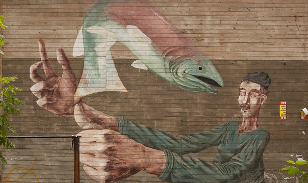 Свободные галереи - нижегородский стритарт