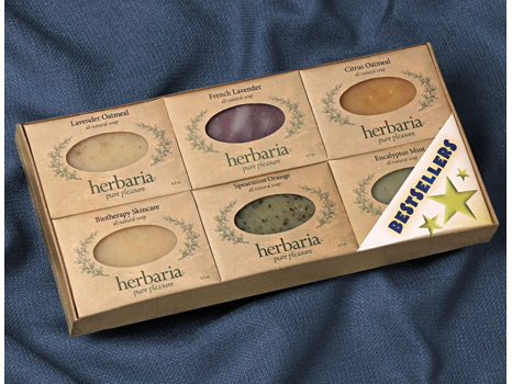 6-Pack of Herbaria Soap