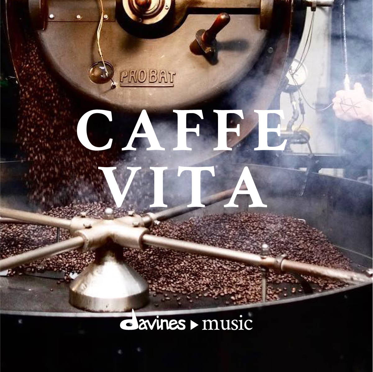 "Listen to the Davines ""Caffe Vita"" playlist on Spotify"