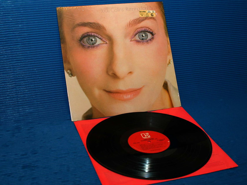 "JUDY COLLINS  - ""Running for My Life"" -  Elektra 1980"
