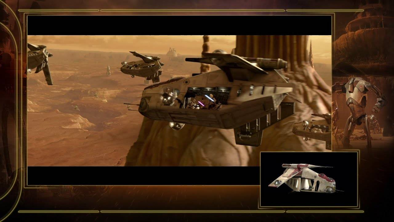 republic gunship in episode 2