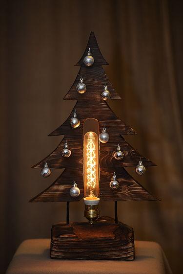 Светильник декоративный Лампа-ёлка