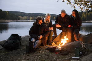 Guided overnight trip in beautiful nature