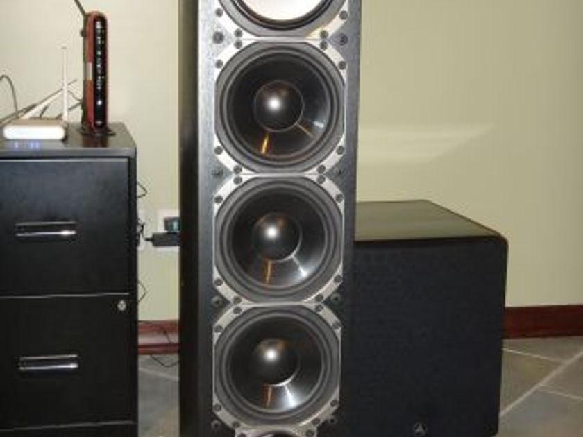 Paradigm  Reference Studio 100 v5 Floorstanding Speaker Black MSRP $3598