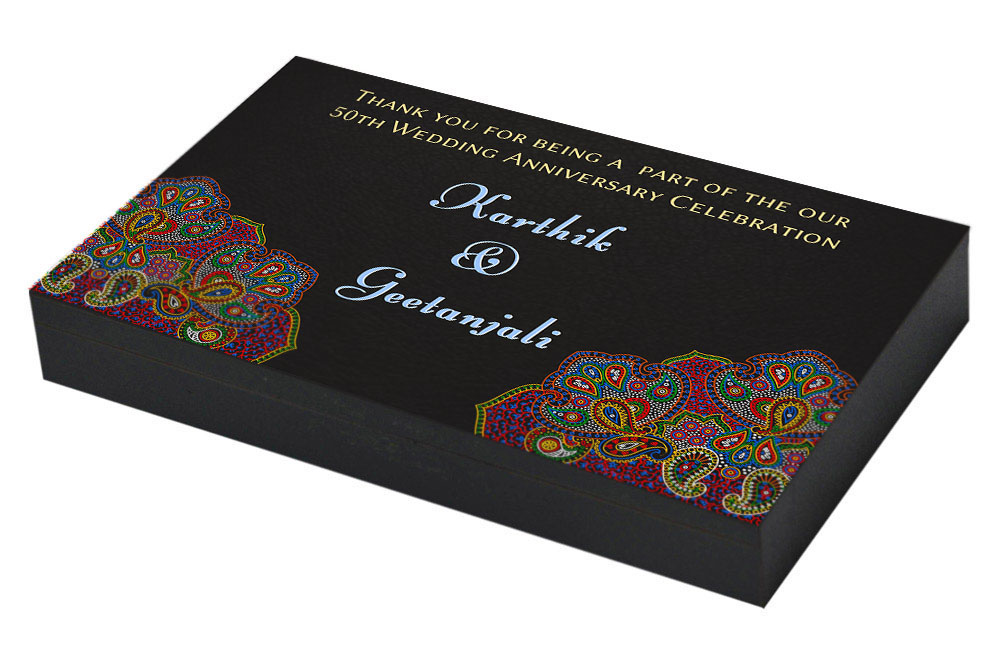 Return Gifts For 25th Wedding Anniversary: 50th Marriage Anniversary Invitation & Return Gifts