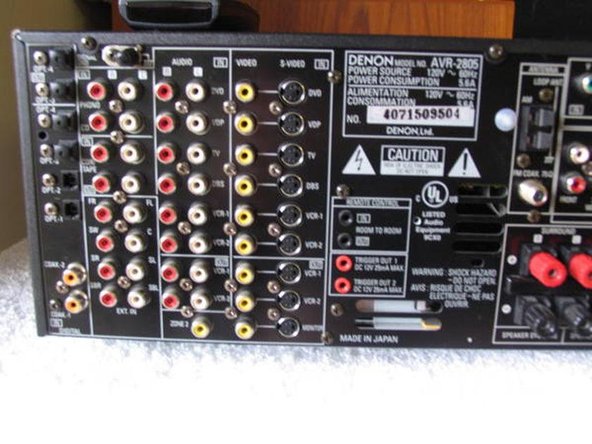 Denon AVR 2805 100 wpc times 7