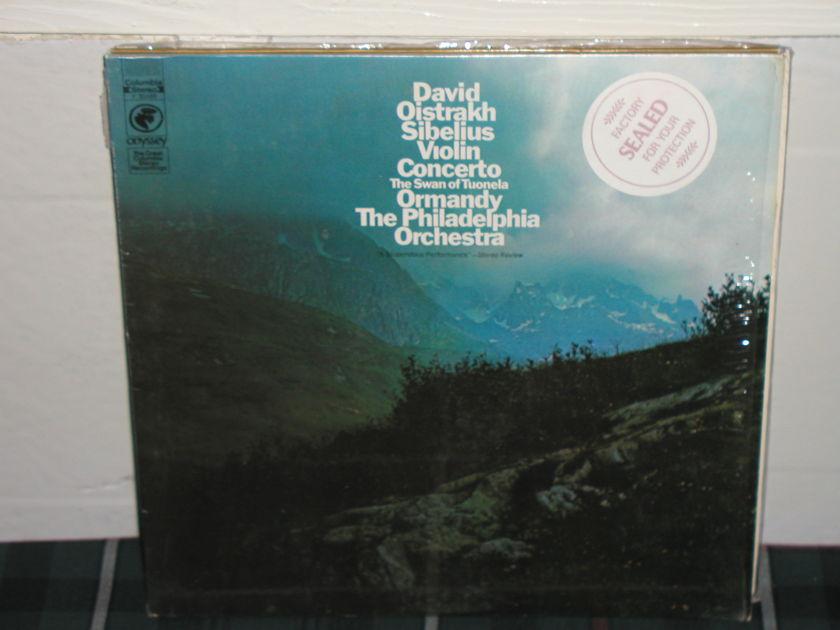 Oistrakh/Ormandy - Sibelius Violin Cto Columbia still in shrink.