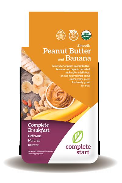 peanut butter banana instant breakfast shake
