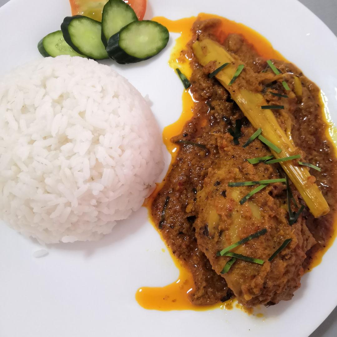 Kapitan Curry Chicken