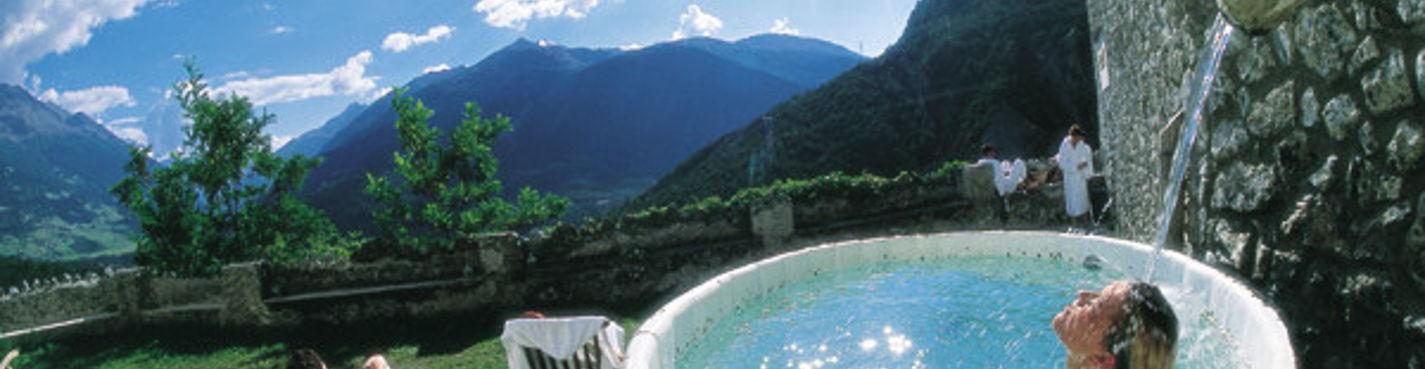 Поездка в Бормио, Альпийские горы