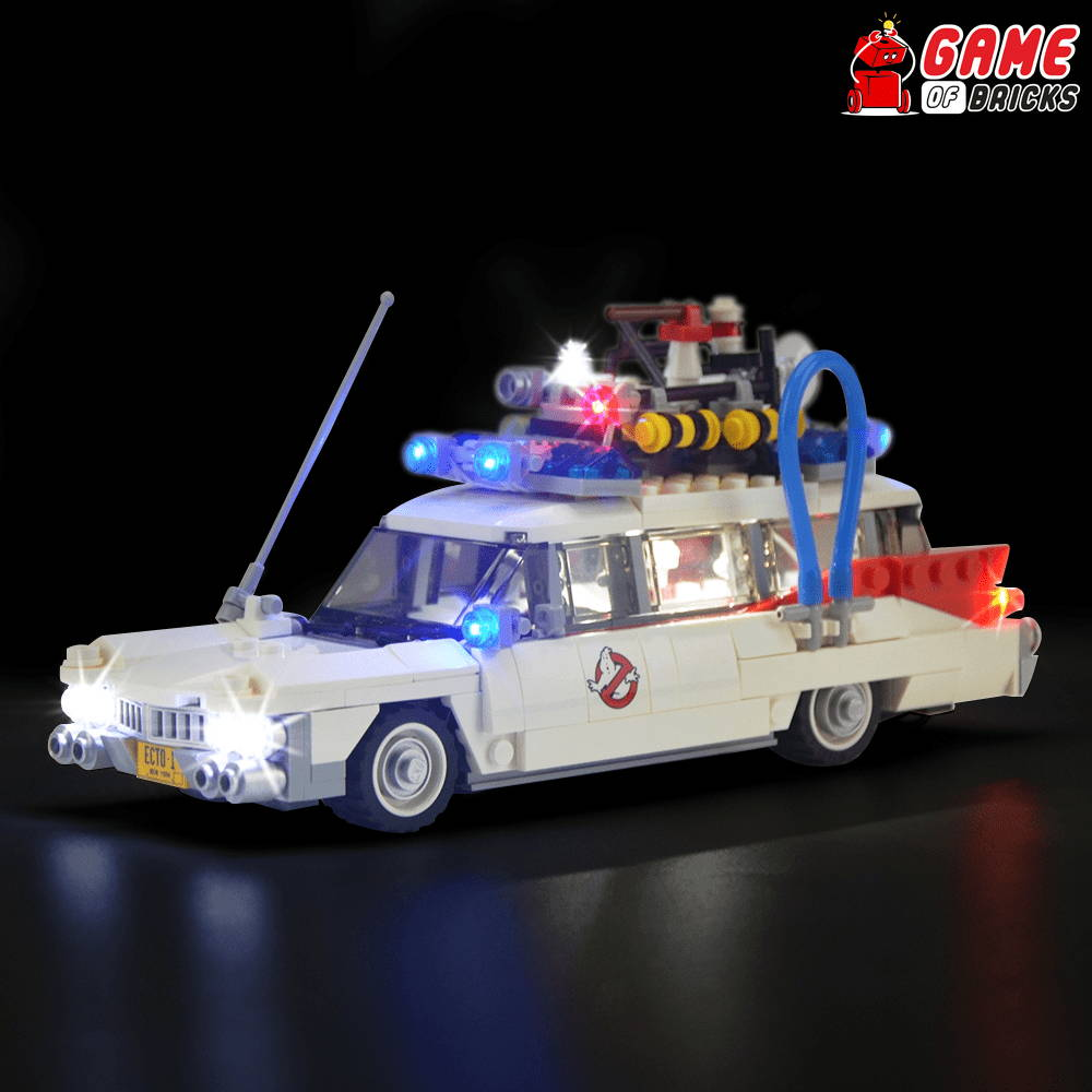 lego night light GHOSTBUSTERS ECTO-1 21108