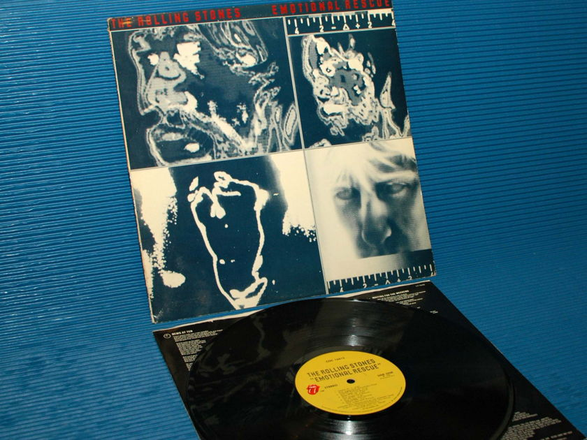 """THE ROLLING STONES -  - """"Emotional Rescue"""" -  RSR 1980"""