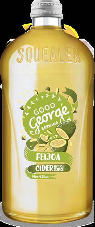 Good George Feijoa Cider Squealer