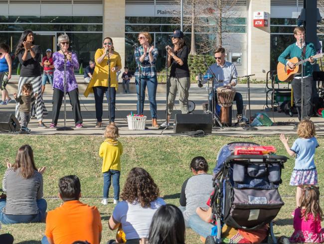 Levy Park Concert Series, Sponsored Primrose School at Greenway Plaza