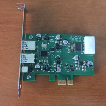 Reference USB PCI-E card