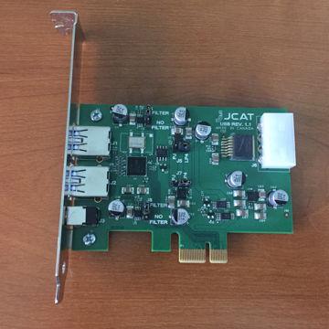 Reference USB PCI-E card