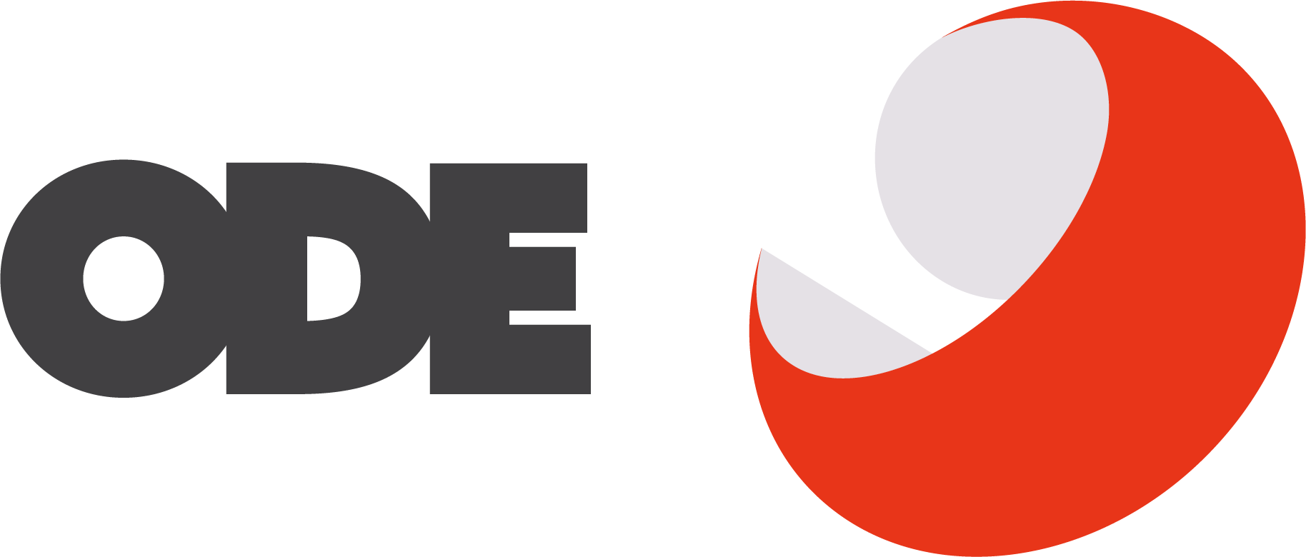Ode logo row red