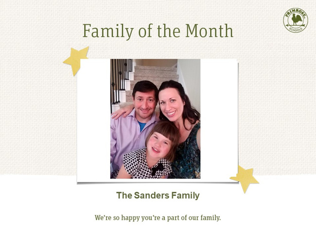 family of the month primrose of harmony