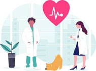 Moderne Tierarztbehandlungen