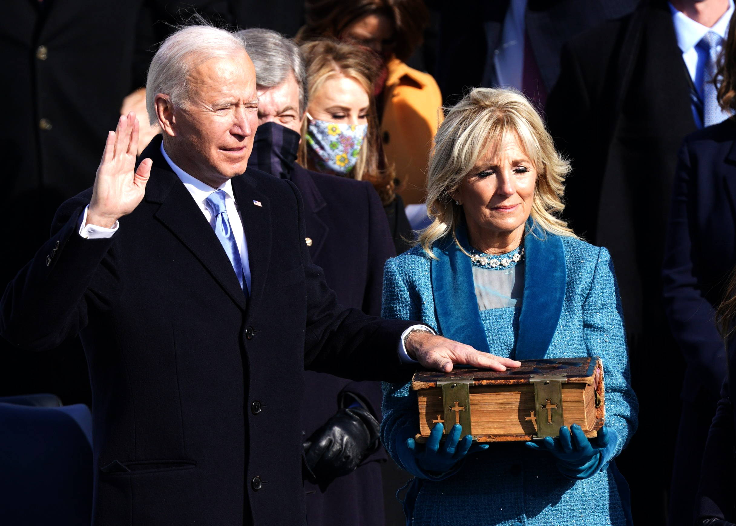 Joseph R. Biden is sworn in as the 46th President of the USA