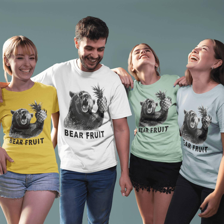 b8c3c7e1d30ae Our Bear Fruit T-Shirt solves both those problems.