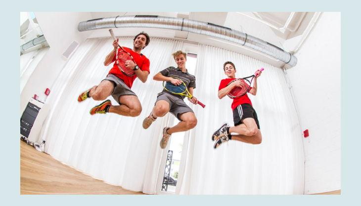 tennis academy wiesbaden kindergeburtstag luft tennis springen