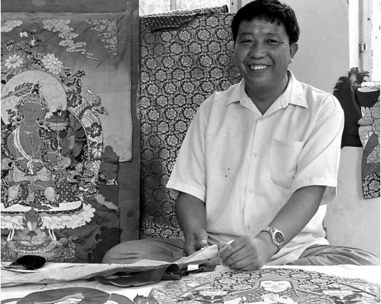 Thangka Artist Tempa Chophel