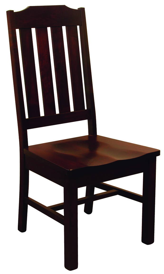 Wilson Solid Wood, Handcrafted Kitchen Chair or DIning Chair from Harvest Home Interiors Amish Furniture