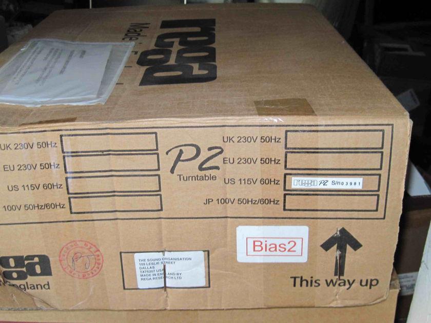Rega P2 Turntable wt Bias2
