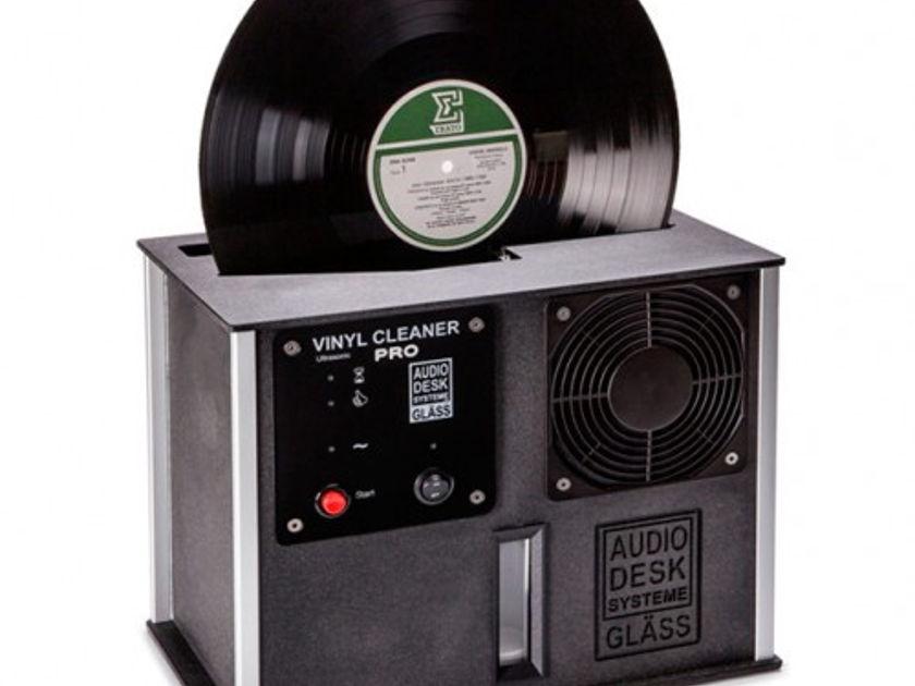 Audio Desk - Ultrasonic Vinyl Cleaner PRO Black