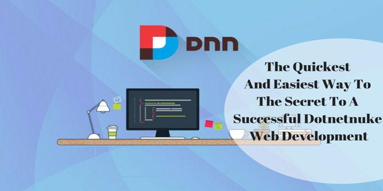 The Secret to a Successful DNN Web Development