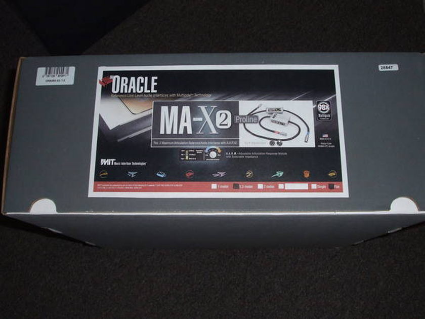 MIT Oracle MA-X Rev2 XLR, 1.5 meter pair
