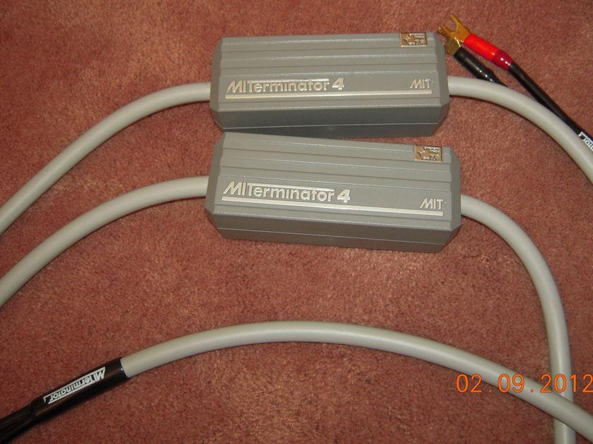MIT  Terminator 4 Speaker Cables 8 Feet