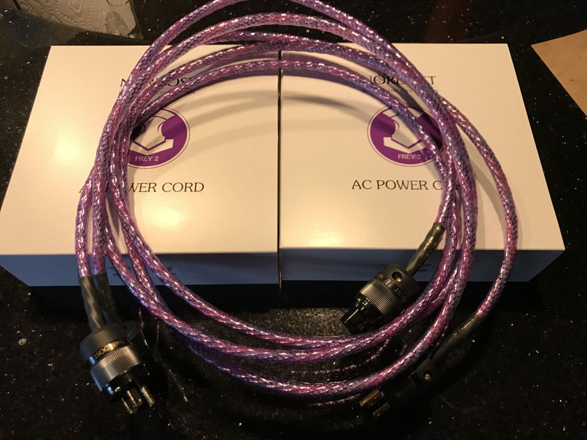 Nordost Frey 2 Frey2 power cord cable