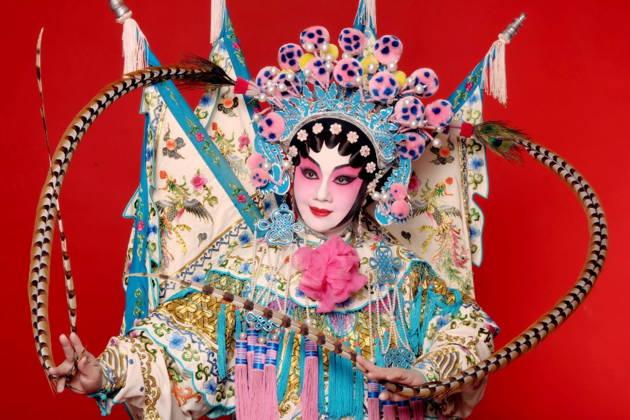Пекинская опера в театре Лиюань (Liyuan)