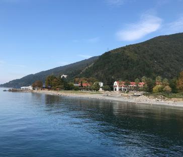 Абхазия - очарование Рицы и Пицунды