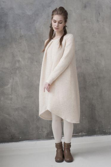 Платье-одеялко из мохера