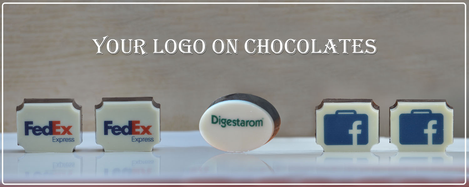 Customised Chocolate gift for Corporate