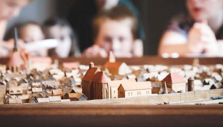 stiftung stadtmuseum proeberäume stadtmodell
