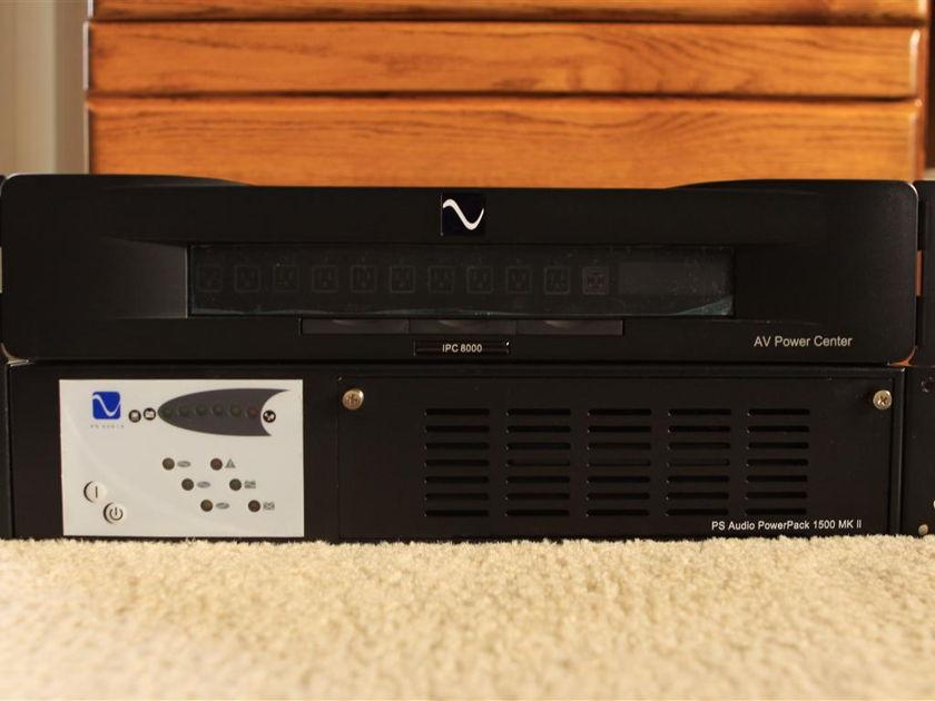 PS Audio PowerPlay8000 & PowerPack1500mkII *Price Drop