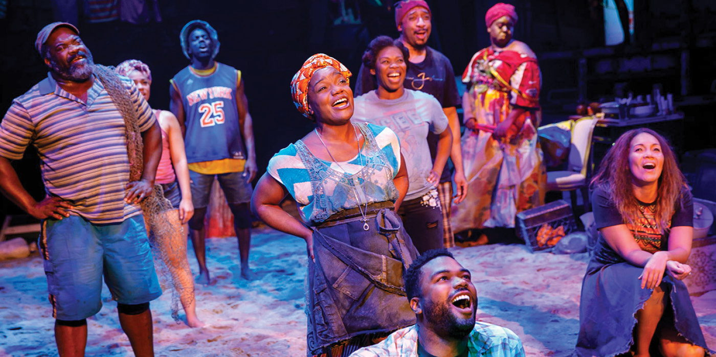 Once On This Island at the Shubert Theatre