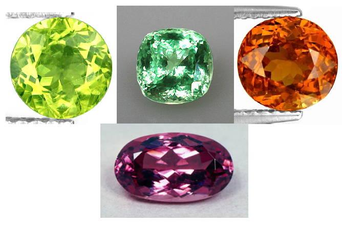 Grossular Garnet yves lemay jewelry