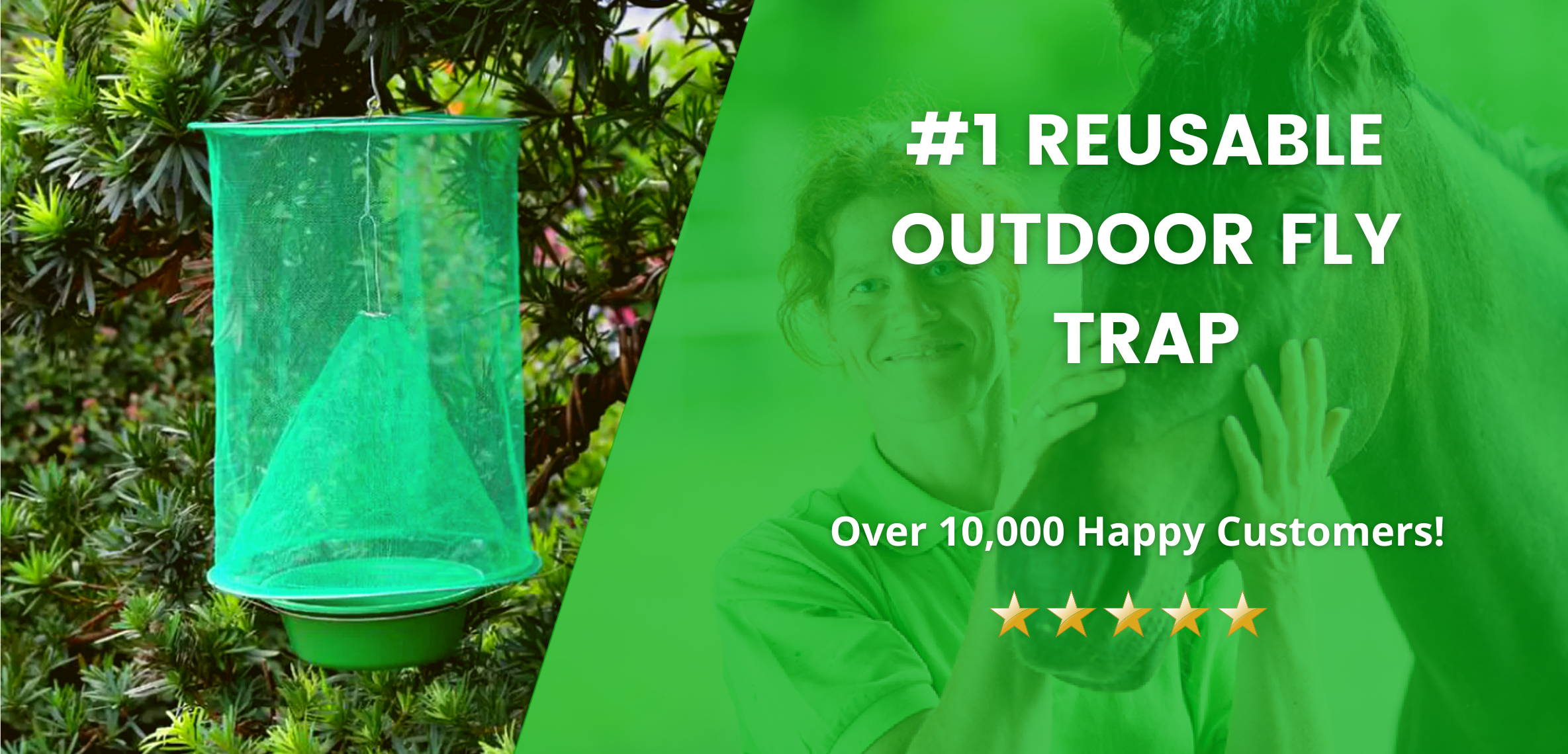 Best Reusable Fly Trap For Outdoors.