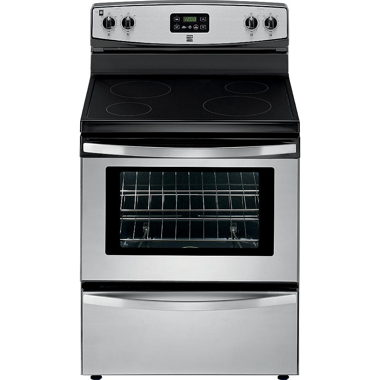 KENMORE 30″ 4.9 CU. FT. ELECTRIC RANGE- STAINLESS
