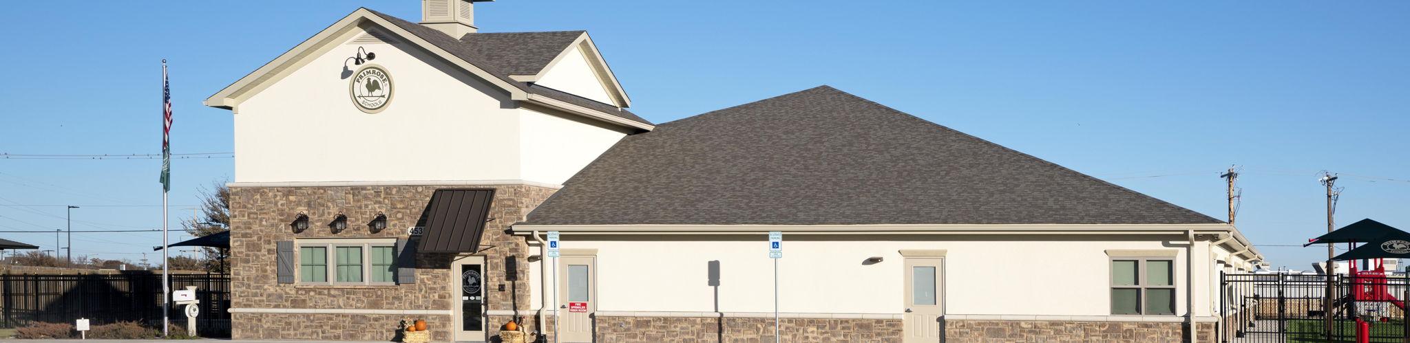exterior image of Primrose School of Amarillo Southwest